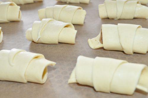 croissants aux poires