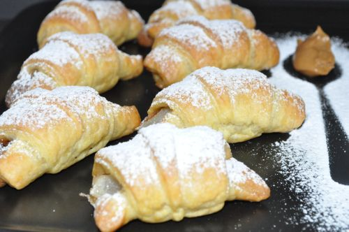 croissants poires speculoos