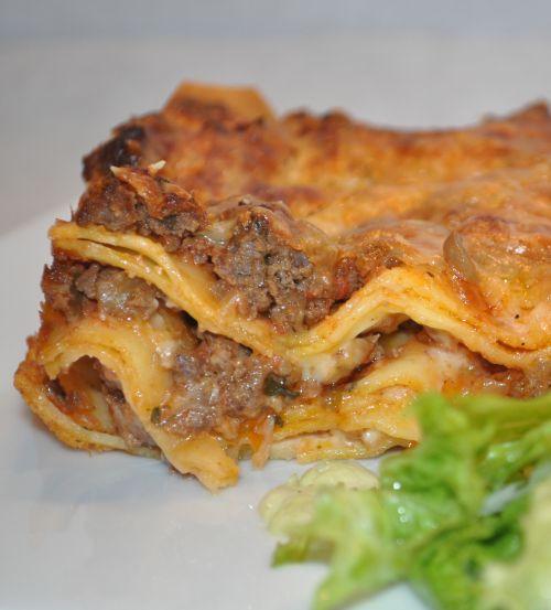 DSC 0082 Lasagne à la sauce Bolognaise