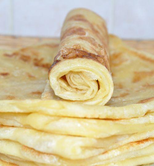 Msemen à la viande confite Khlii  Cuisine Marocaine