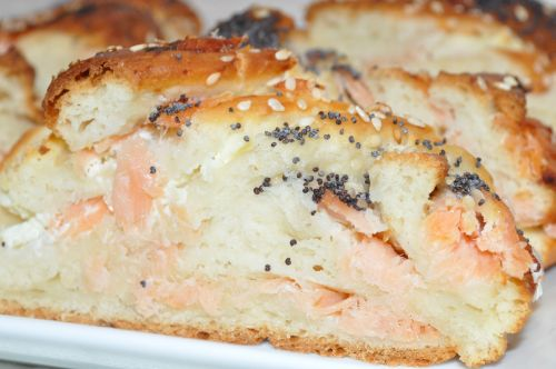 62 Brioche au saumon fumé