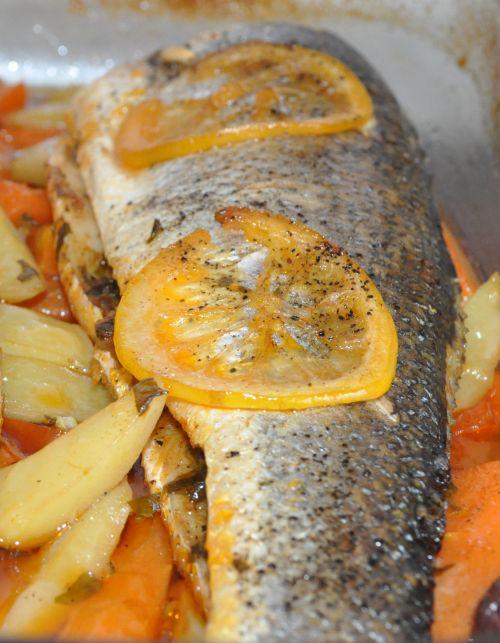 recette poisson au four rapide