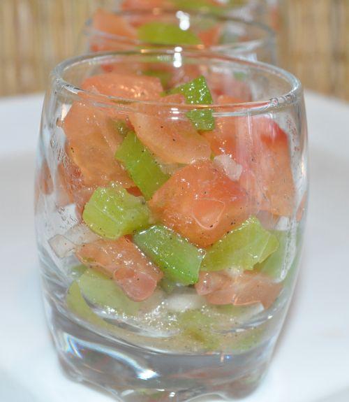 DSC 0012 Salade de tomates à la marocaine