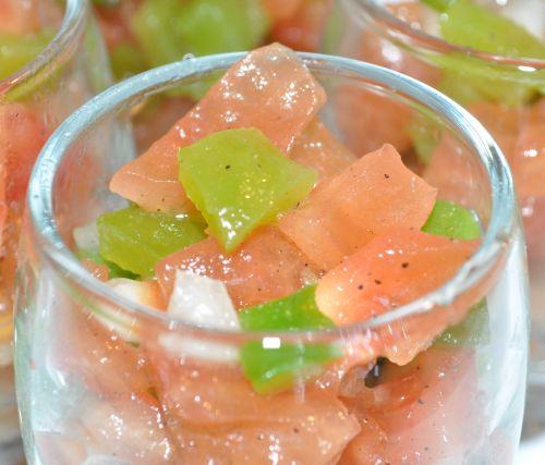 DSC 0017 Salade de tomates à la marocaine