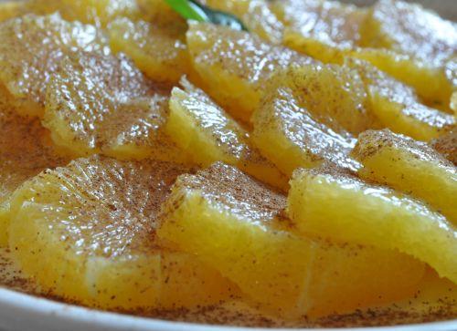 recette salade orange cannelle