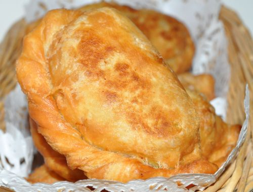1 Curry Puffs au poulet