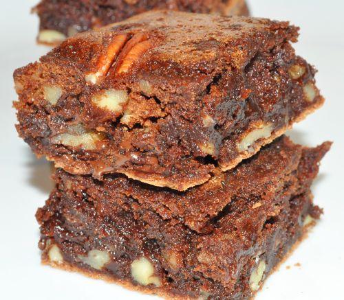 DSC 0022 Brownie aux noix de pécan