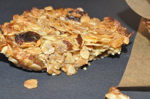 recette barre de cereale de mercotte