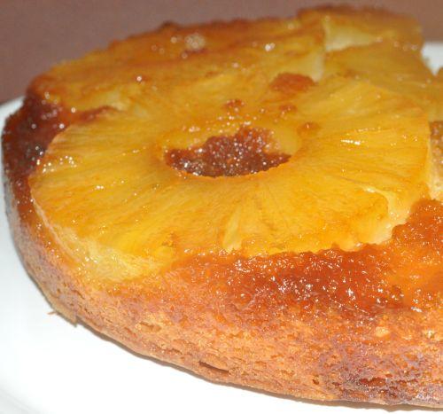 gateau simple a l'ananas
