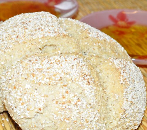 DSC 0027 Le Mahrache (pain à lorge)