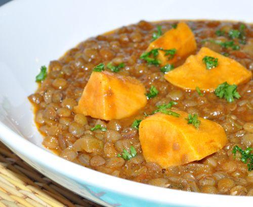 DSC 0104 Lentilles à la Marocaine