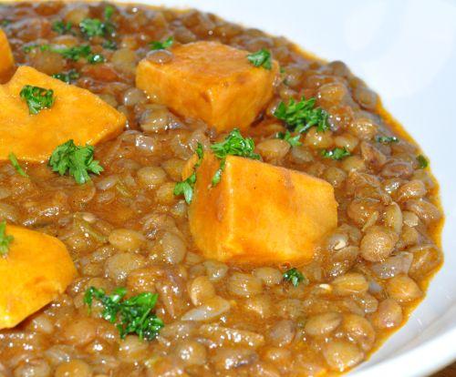 DSC 0106 Lentilles à la Marocaine