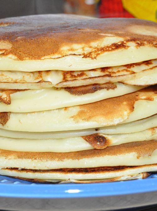 recette pancakes au fromage blanc