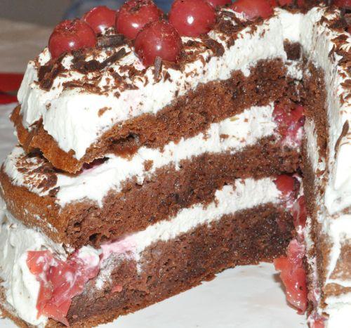 dessert foret noire
