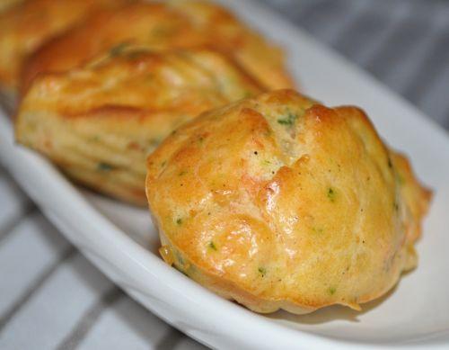 madeleines au saumon