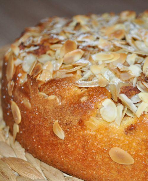 DSC 0010 Gâteau aux pommes et à la cannelle