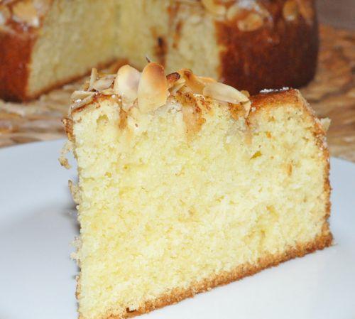 DSC 0023 Gâteau aux pommes et à la cannelle