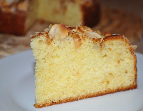 DSC 0034 Gâteau aux pommes et à la cannelle