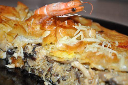 DSC 0095 Pastilla au poisson et aux crevettes