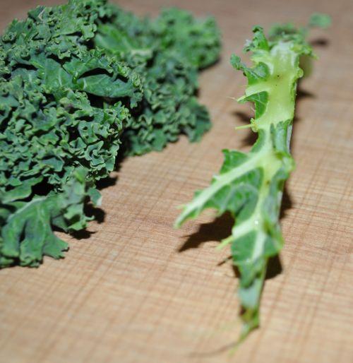 recette avec le chou kale