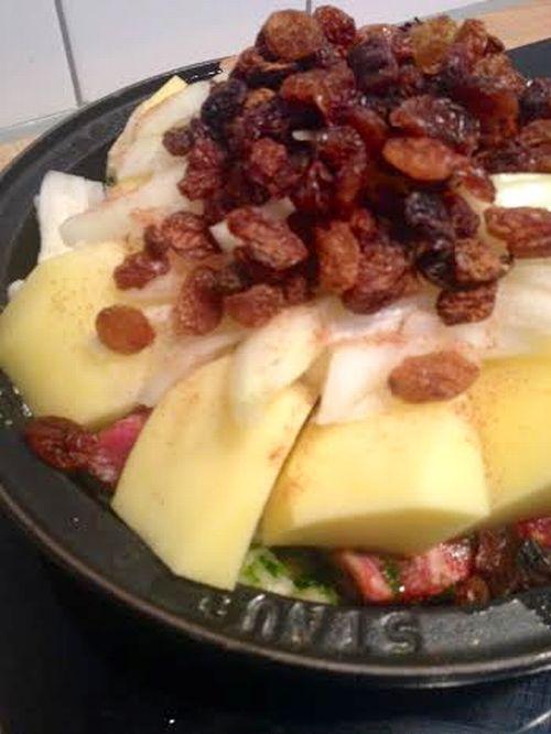 unnamed Tajine aux oignons et raisins secs