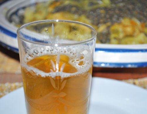 thé a la menthe marocain