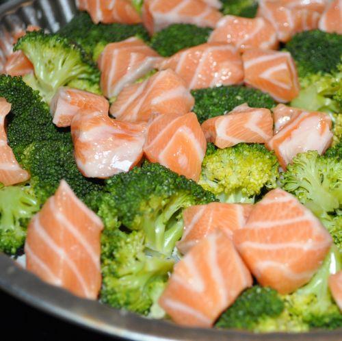 quiche aux saumon et brocolis