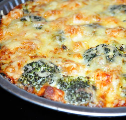 DSC 0071 Quiche Saumon Brocolis