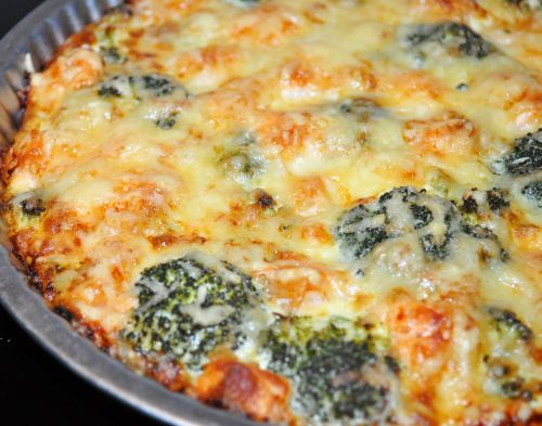 DSC 0073 Quiche Saumon Brocolis