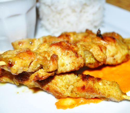 poulet satay