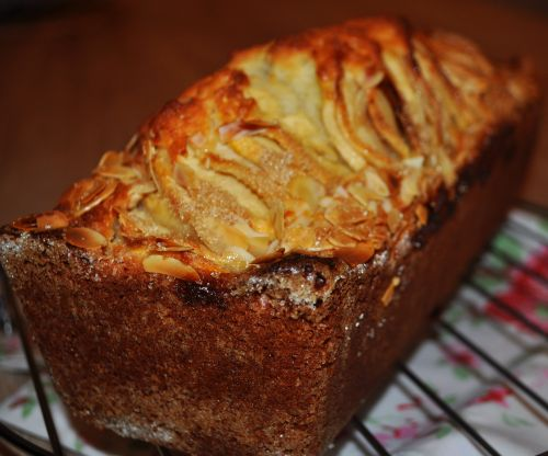 DSC 0029 Cake aux pommes et aux amandes