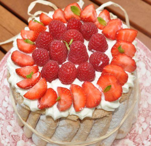 recette charlotte aux fraises facile