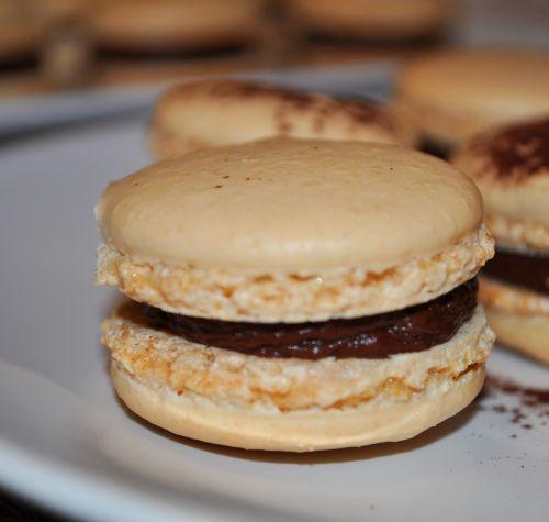 macaron vanille choco