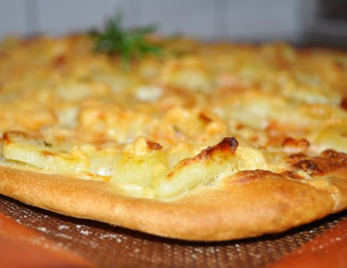 pizza aux saveurs de la mer