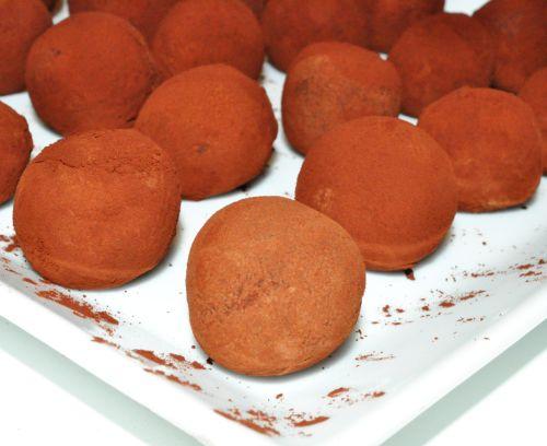 recette truffes au chocolat de chef
