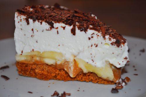 dessert au caramel et chocolat Banoffee Pie