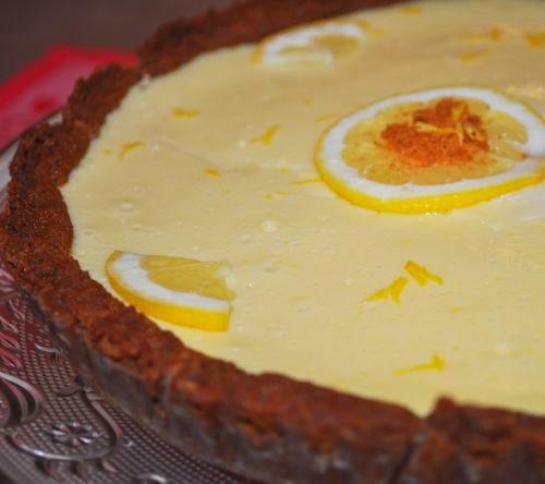 tarte au citron au lait concentré1 Tarte au citron au lait concentré