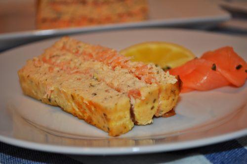 terine au 2 saumons Terrine aux deux Saumons