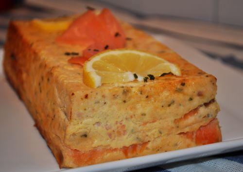 terine de saumon frais Terrine aux deux Saumons