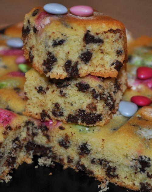 cookies aux smarties Cookies géant aux dragées
