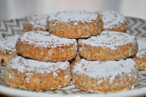 biscuit noel Sablés aux Amandes et sésame