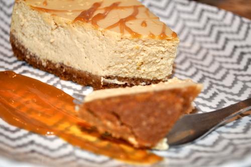 cheese cake caramel Cheese cake au caramel