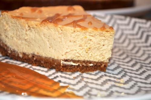 cheese cake speculos mascarpone Cheese cake au caramel