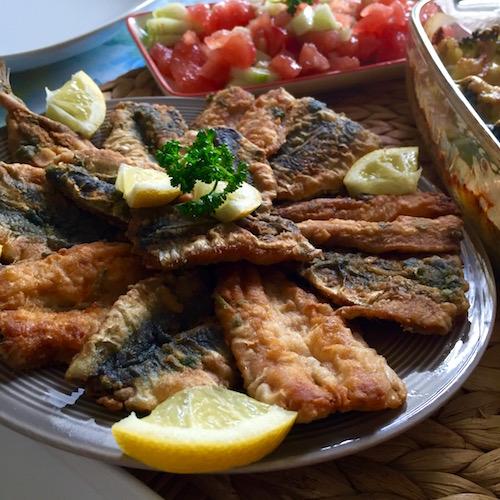 sardine a la charmoula Sardines à la marocaine