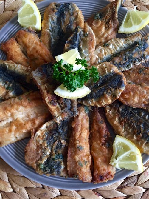 sardine a la marocaine Sardines à la marocaine