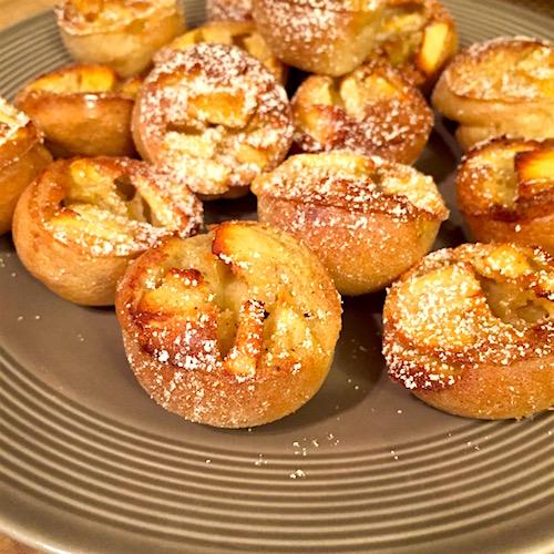 crepes pommes canelle Crêpes Soufflées aux pommes
