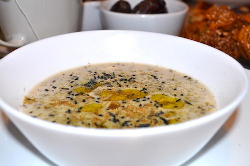 soupe d'avoine