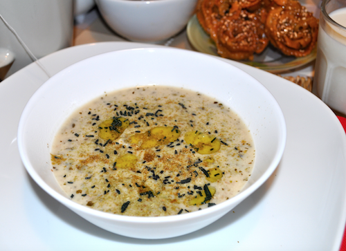 soupe marocaine a lavoine Soupe aux flocons davoine   Hssoua