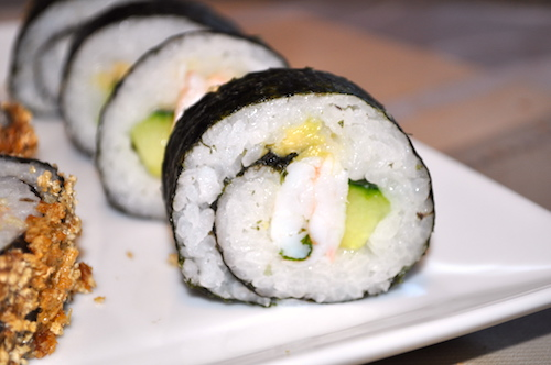 maki home made Maki et California rolls maison