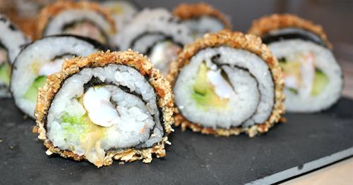 sushi maki maison Maki et California rolls maison